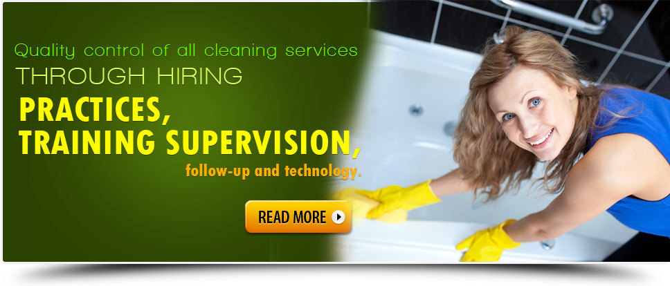 Commercial Cleaning template banner